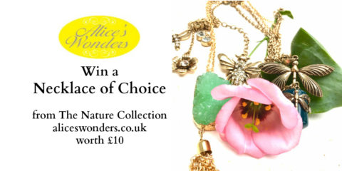 UK Blogger Giveaway: Win a necklace of choice from Alice's Wonders – Closes 04/05/2017