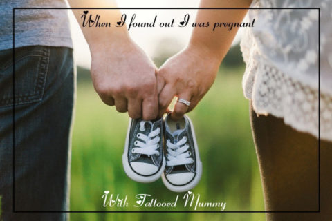 When I found out I was pregnant – Tattooed Mummy