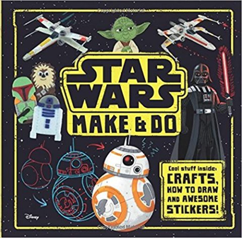 UK Blogger Giveaway: Win Star Wars: Make & Do & Adventures in Wild Space books – Closes 4th May 2017