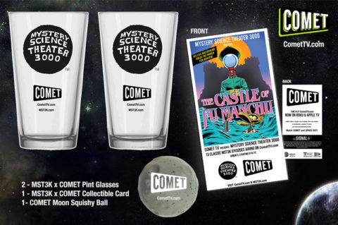 Blogger @mikethefanboy US Giveaway: Win A MST3K Prize Pack Thanks to Comet TV! – Closes 05/05/2017