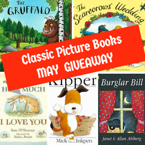 Blogger @suziewauthor UK Giveaway: Win 5 Classic Picture Books – Closes 05/31/2017