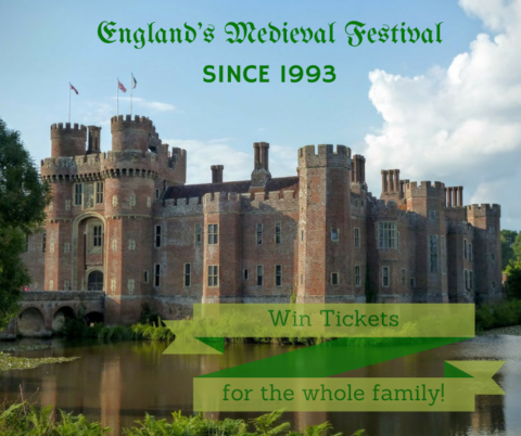 UK Blogger Giveaway: Medieval Festival Family Ticket Giveaway – Closes 05/20/2017