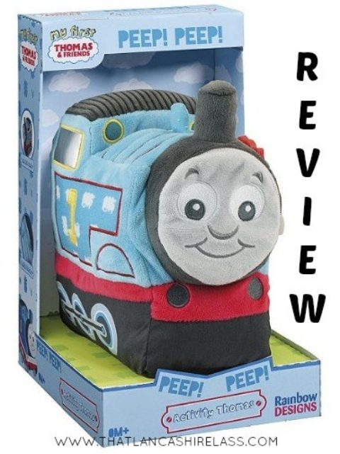 Blogger @LancsKaren UK Giveaway: Win a Thomas & Friends Activity Plush – Closes 4th May 2017