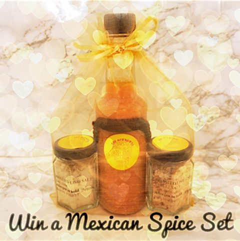 @enjoyadventures UK Giveaway: Win Mexican Spice Set – Closes 04/24/2017