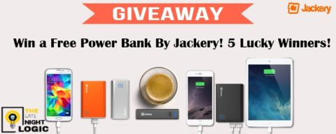 US Blogger Giveaway: Jackery Thunder Power Bank Giveaway – Closes 04/27/2017