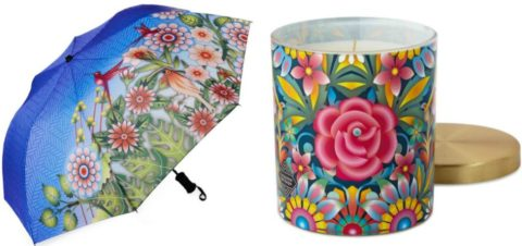 Blogger @raindrpsunshine Worldwide Giveaway: Catalina Estrada Umbrella & Candle – Closes 05/21/2017