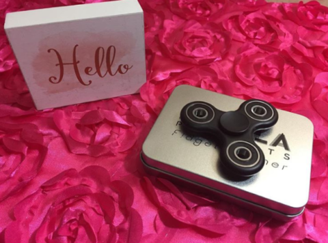 Blogger @lauralisblog US Giveaway: SPINNER FIDGET HAND TOY Focus, Stress reducer, Relieve ADD, ADHD, anxiety, boredom – Closes 05/31/2017
