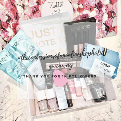 Blogger @jenniferwl_ UK Giveaway: Celebrate 1k followers on Instagram – Closes 05/31/2017