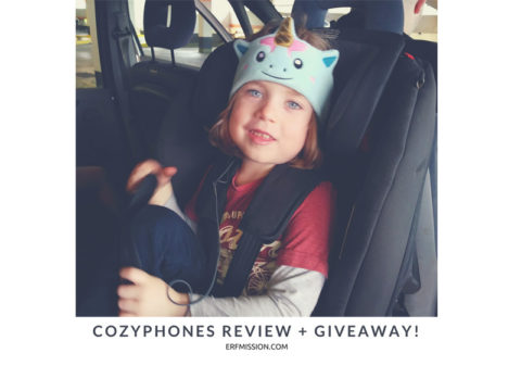 Blogger @ERFmama UK & US Giveaway: Win a 'CozyPhones' children's headphones for your child! – Closes 31st of May 2017