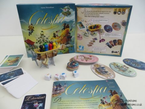 Blogger @etspeaksfrom UK Giveaway: Win Celestia game worth £20.99 – Closes 07/31/2017
