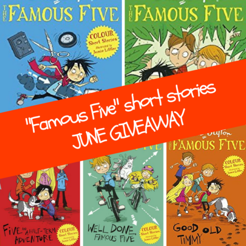 Blogger @suziewauthor Worldwide Giveaway: Win 5 Famous Five colour short story books – Closes 06/30/2017