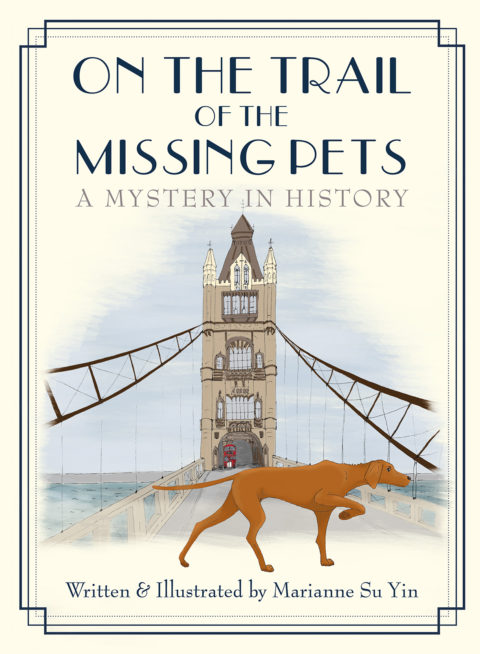 Blogger @peachy_diary Worldwide Giveaway: A Copy of On the Trail of the Missing Pets – Closes 08/01/2017