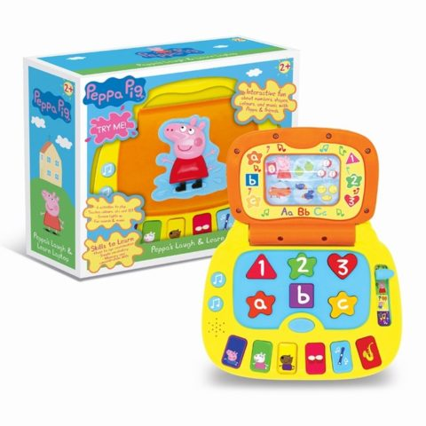 Blogger @etspeaksfrom UK Giveaway: Win Peppa Laugh & Learn Laptop worth £17.99 – Closes 07/17/2017