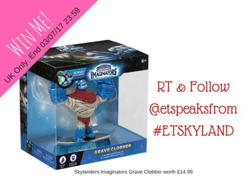 Blogger @etspeaksfrom UK Giveaway: Win Skylanders Imaginators Grave Clobber worth £14.99 – Closes 07/03/2017