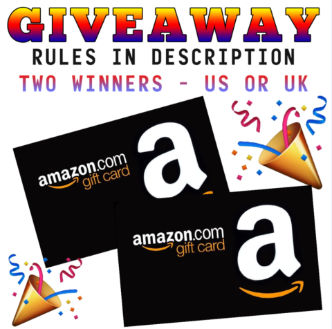 Blogger  Worldwide Giveaway: Amazon US & UK $10/£10 2 x GIFTCARD GIVEAWAY! – Closes 06/24/2017