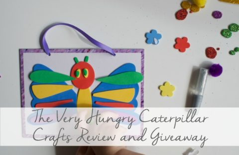 Blogger @smallthingblog UK Giveaway: 2 x Very Hungry Caterpillar Craft Kits – Closes 07/09/2017