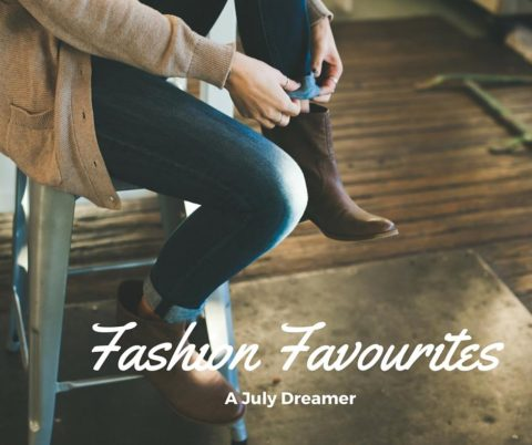 {Monthly Roundup} June 2017 Fashion Favourites