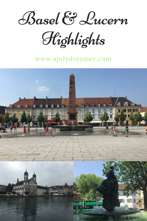 Basel & Lucern, Switzerland Highlights