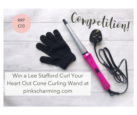 Blogger @pinkscharming UK Giveaway: Win a Lee Stafford Curl Your Heart Our Curling Cone worth £20 – Closes 07/18/2017