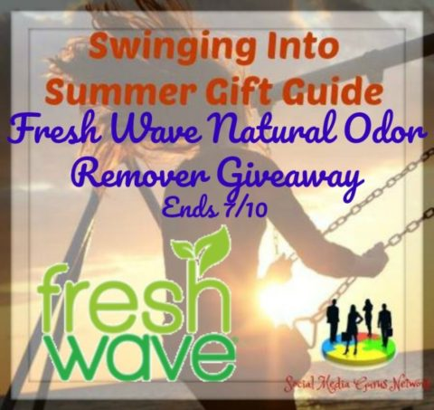 Blogger @easterchic US Giveaway: Fresh Wave Odor Removing Vacuum Beads, Spray, and Pet Shampoo – Closes 07/10/2017