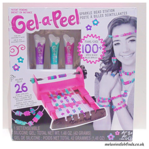 Blogger @MelanieMse UK Giveaway: Win a Gel-a-Peel Sparkle Bead Station – Closes 06/08/2017
