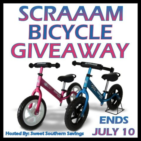 Blogger @easterchic US Giveaway: SCRAAAM Coaster GT Balance Bike Giveaway – Closes 07/10/2016
