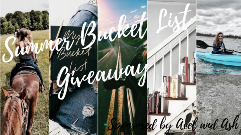 Blogger @sunshine_lace_ Worldwide Giveaway: 101 Summer Bucket List Ideas Giveaway Sponsored by Axel and Ash – Closes 08/31/2017