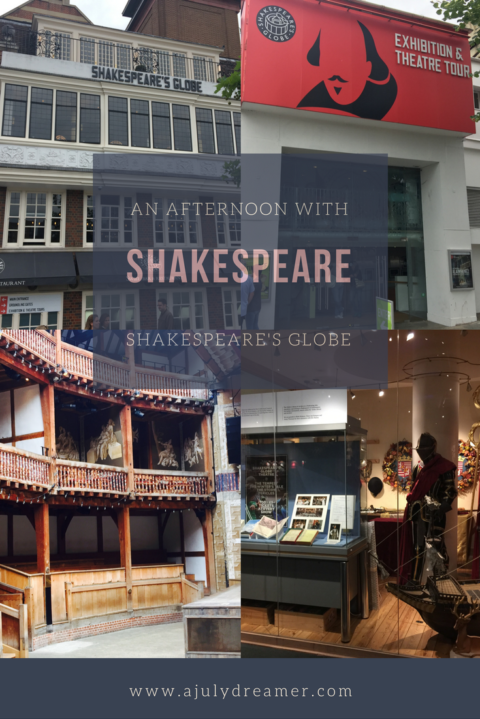 An afternoon with Shakespeare