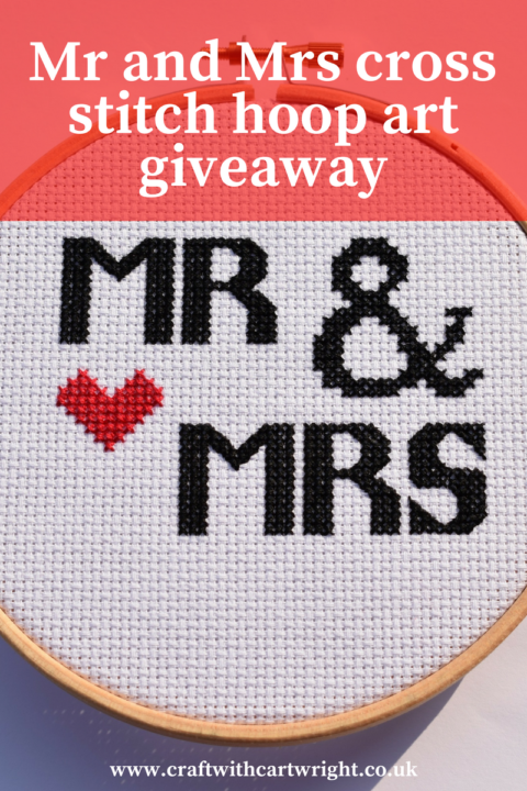 Blogger @craftcartwright UK Giveaway: Win a handmade wedding gift – Closes 07/29/2017