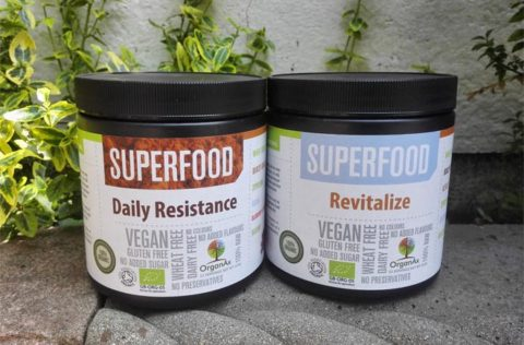 Blogger @behealthyfeelgd United Kingdom Giveaway: Win over £50 worth of organic superfood powders from Organax – Closes 07/31/2017