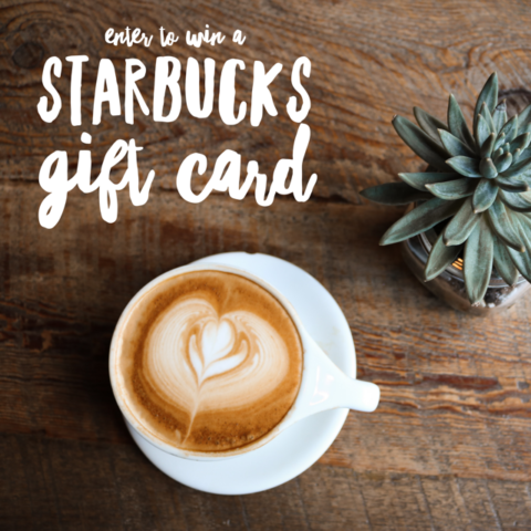 Blogger @WhoLetTheMumOut Worldwide Giveaway: Starbucks Gift Card Giveaway – Closes 07/24/2017