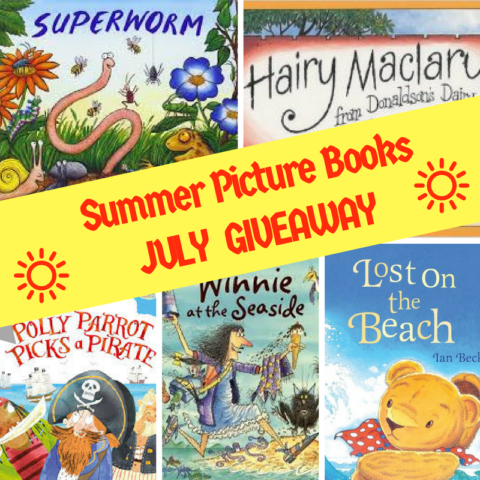 Blogger @suziewauthor UK Giveaway: Win 5x Summer Picture Books – Closes 07/31/2017