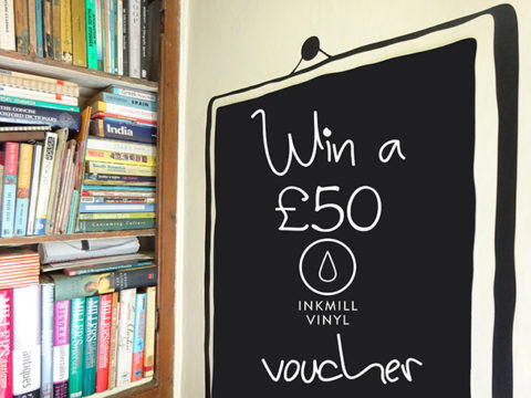 Blogger @hisforhome UK Giveaway: Win a £50 Inkmill Vinyl voucher with H is for Home – Closes 07/31/2017
