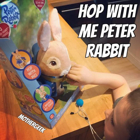 Blogger @TheMotherGeek UK Giveaway: Win a Talking Peter Rabbit Hop With Me Plush worth £30 – Closes 08/31/2017