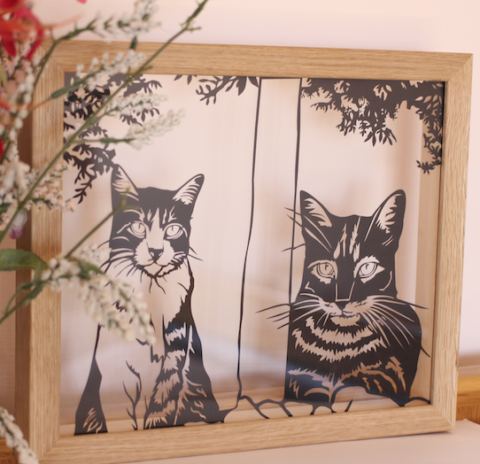 Blogger @beautyandbird Worldwide Giveaway: Win a personalised papercut portrait worth up to £79 – Closes 08/28/2017