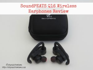 Blogger @etspeaksfrom UK Giveaway: Win SoundPEATS Q16 Earphones worth £79.99 - Closes 09/22/2017 | Bloggers Required, influencer & blogger outreach community.