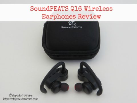 Blogger @etspeaksfrom UK Giveaway: Win SoundPEATS Q16 Earphones worth £79.99 – Closes 09/22/2017