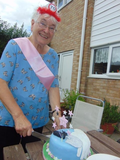 A letter to Nanny T on your 70th birthday