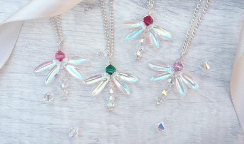 Blogger @craftcartwright UK Giveaway: Win a dragonfly birthstone pendant – Closes 09/02/2017