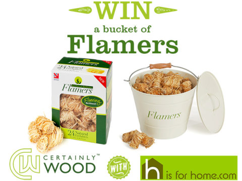 Blogger @hisforhome UK Giveaway: Win a bucket of Flamers firelighters with H is for Home – Closes 08/31/2017
