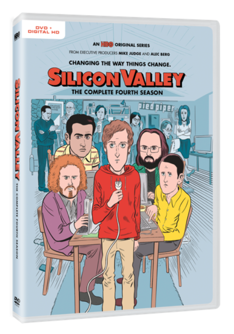 Blogger @mikethefanboy USA Giveaway: Win Silicon Valley. The Complete Fourth Season on DVD – Closes 09/29/2017