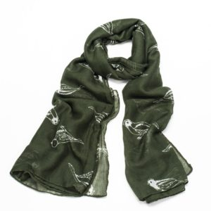 Blogger <a class='bp-suggestions-mention' href='https://bloggersrequired.com/member/lyliarose/' rel='nofollow'>@lyliarose</a> UK Giveaway: Win a Green Finch Bird Print Scarf! - Closes 10/04/2017