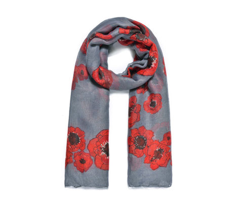 Blogger @lyliarose UK Giveaway: Win a POPPY Print Scarf! – Closes 10/18/2017