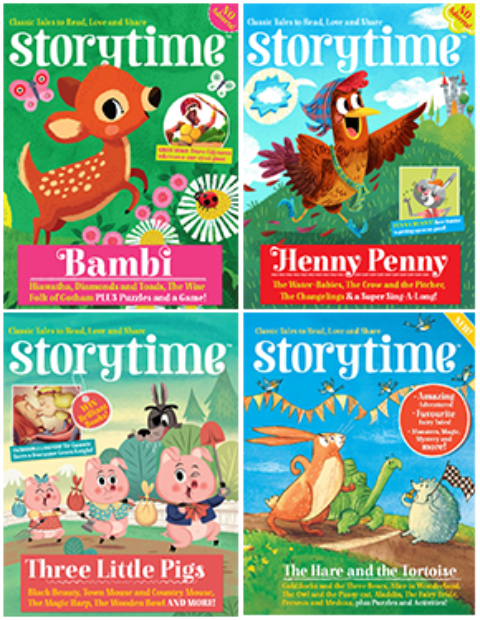 Blogger @MayflowerBlogs UK Giveaway: Win a bundle of storytime magazines for kids! – Closes 10/08/2017