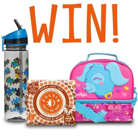 Blogger @etspeaksfrom UK Giveaway: E: 08/10 Win NEW Pulsin Kids' Fruity Oat Bars, Smiggle Lunch Box & Bottle – Closes 8th Oct 2017