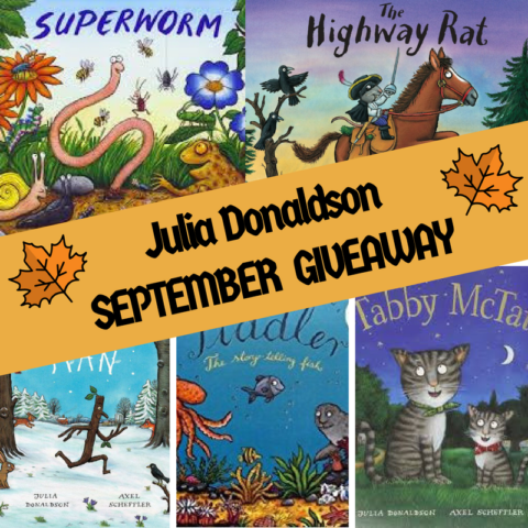 Blogger @suziewauthor UK Giveaway: Win 5x Julia Donaldson Picture Books – Closes 09/30/2017