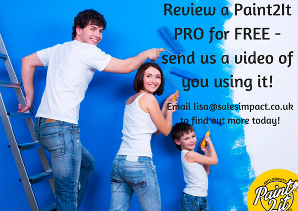 Worldwide blogging assignment: Review a Paint2It PRO - Closes 12/10/2017
