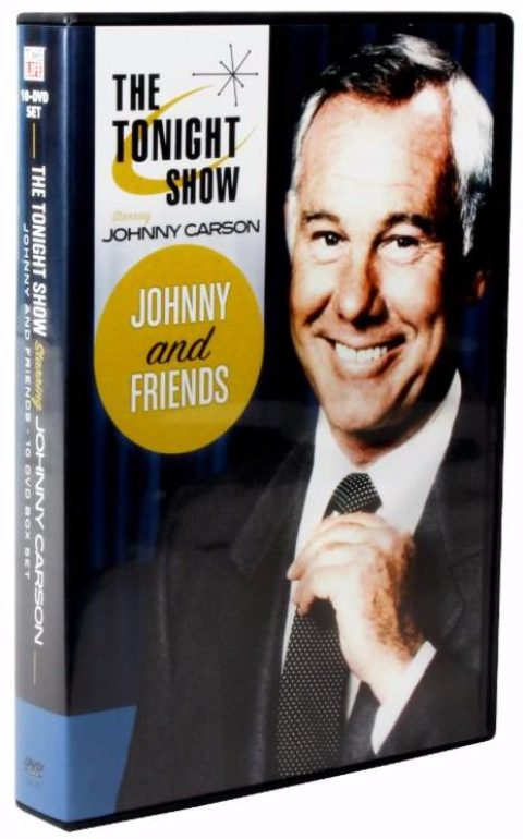 Blogger @mikethefanboy USA Giveaway: Win The Tonight Show Starring Johnny Carson: Johnny and Friends 10 Disc DVD Set – Closes 10/13/2017