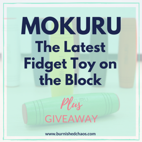 Blogger @BurnishedChaos UK Giveaway: Win 1 of 2 Mokuru Fidget Sticks – Closes 09/27/2017