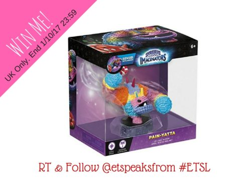Blogger @etspeaksfrom UK Giveaway: Skylander Imaginators Sensei: Pain-Yatta worth £14.99 – Closes 10/01/2017